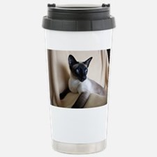 Seal Point Siamese Cat  Stainless Steel Travel Mug