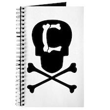 Skull & Crossbones Monogram C Journal