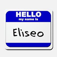 hello my name is eliseo  Mousepad