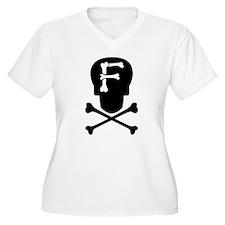 Skull Monogram F T-Shirt
