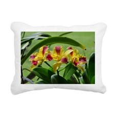 Orchid Cattleya Flower F Rectangular Canvas Pillow