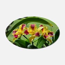 Orchid Cattleya Flower Fusch Wall Decal