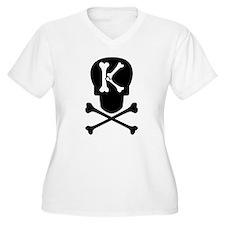 Skull Monogram K T-Shirt