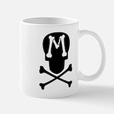 Skull & Crossbones Monogram M Coffee Mug
