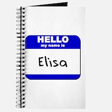hello my name is elisa Journal