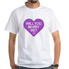 Candy Will You Marry Me? T-Shirt