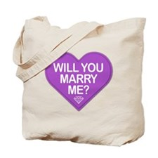 Candy Will You Marry Me? Tote Bag