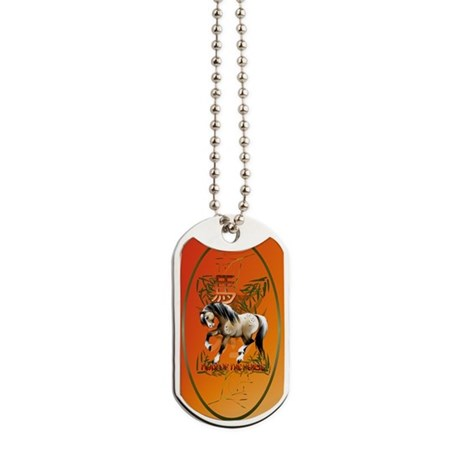The Year Of The Horse Dog Tags