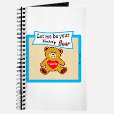 Teddy Bear-Elvis Presley Journal