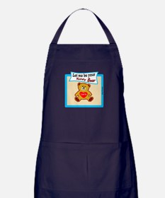 Teddy Bear-Elvis Presley Apron (dark)