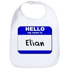 hello my name is elian  Bib
