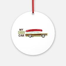My Sunday Car Ornament (Round)
