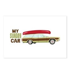 My Sunday Car Postcards (Package of 8)