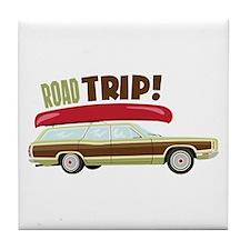 Road Trip Tile Coaster