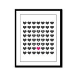 You are the one - Valentines day Framed Panel Prin