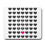 You are the one - Valentines day Mousepad