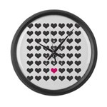 You are the one - Valentines day Large Wall Clock