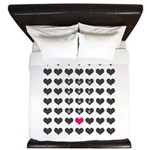 You are the one - Valentines day King Duvet