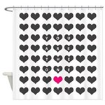 You are the one - Valentines day Shower Curtain