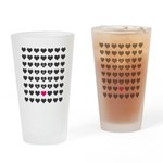 You are the one - Valentines day Drinking Glass