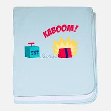 TNT KABOOM! baby blanket