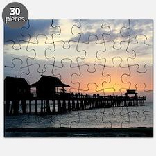 Pier Silhouette  Puzzle