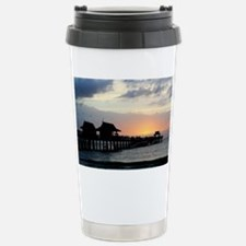 Pier Silhouette  Travel Mug