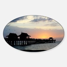 Pier Silhouette  Decal