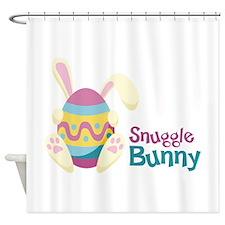 Snuggle Bunny Shower Curtain