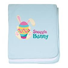 Snuggle Bunny baby blanket
