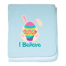 I Believe baby blanket