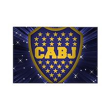 Boca Juniors Rectangle Magnet
