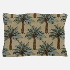 Palm Trees Fabric Pattern Pillow Case