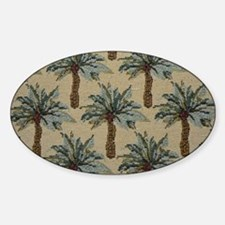 Palm Trees Fabric Pattern Decal