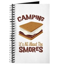 Camping: Its All About the Smores Journal