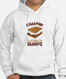 Camping: Its All About the Smores Hoodie