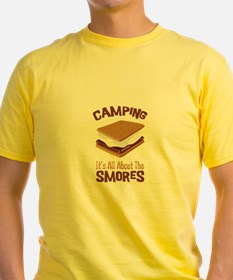 Camping: Its All About the Smores T-Shirt
