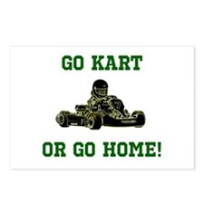 GO KART OR GO HOME! Postcards (Package of 8)