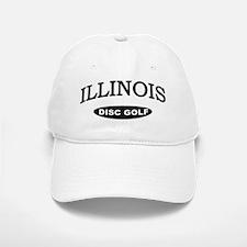 Illinois Disc Golf Baseball Baseball Cap