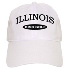 Illinois Disc Golf Baseball Cap