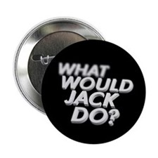 """What would Jack do? 2.25"""" Button (100 pack)"""