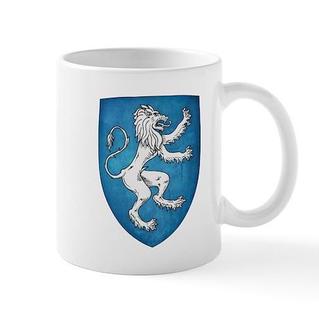 Lion Rampant Sinister Mugs