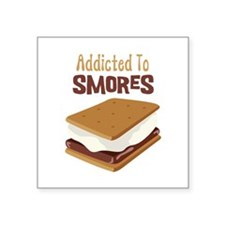 Addicted to Smores Sticker