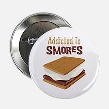 "Addicted to Smores 2.25"" Button"