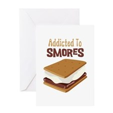 Addicted to Smores Greeting Cards