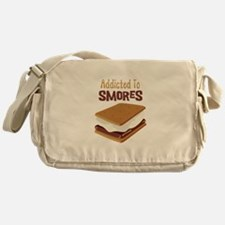 Addicted to Smores Messenger Bag