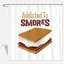 Addicted to Smores Shower Curtain