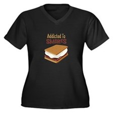 Addicted to Smores Plus Size T-Shirt