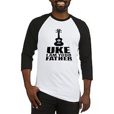 Uke Father Baseball Jersey