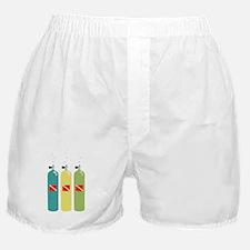Scuba Tanks Boxer Shorts